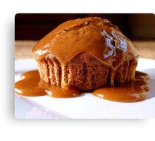 Chocolate Toffee Apple Muffin...NZ Canvas Print