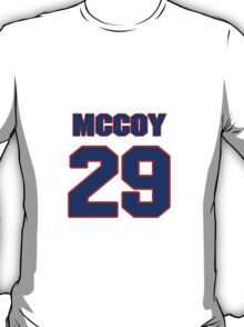 National football player LeSean McCoy jersey 29 T-Shirt