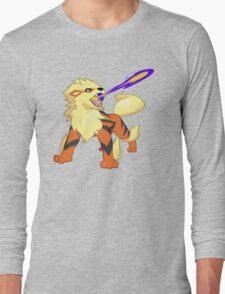 Arcanine Dragon Rage Long Sleeve T-Shirt