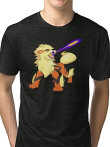 Arcanine Dragon Rage Tri-blend T-Shirt