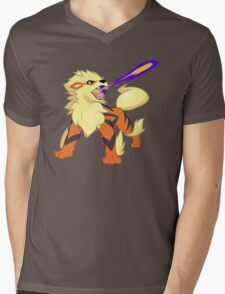 Arcanine Dragon Rage Mens V-Neck T-Shirt