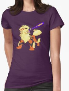 Arcanine Dragon Rage Womens Fitted T-Shirt