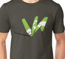 Painted green Unisex T-Shirt