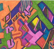 """Geometric"" by Rebekah  McLeod"