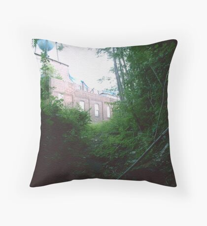 Escape Hatch Viewpoint Throw Pillow