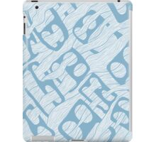 Flowing Faces iPad Case/Skin