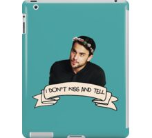 Don't Kiss & Tell iPad Case/Skin
