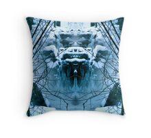 Frozen Tundra Throw Pillow