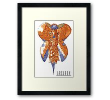 Arcaron: Fuusooyaa mother of pollos Framed Print