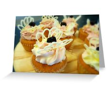 Berry & Chocolate Butterfly - Cupcake - NZ Greeting Card
