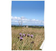 Culloden Thistle Poster