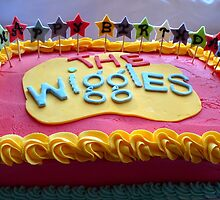 The Wiggles - Happy Birthday Cake - NZ by AndreaEL