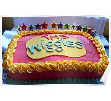 The Wiggles - Happy Birthday Cake - NZ Poster