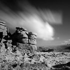 IR Hound Tor Rocks by Neil Bygrave (NATURELENS)