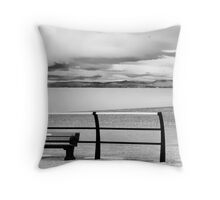 The Wrong Way Round? Throw Pillow
