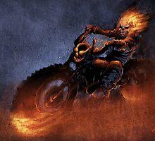 Ghost Rider by Vaggelis Ntousakis