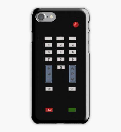 Remote control phone iPhone Case/Skin