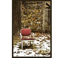 Cold Seat Photographic Print