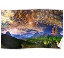 Skyscape - Twin Sun's Poster