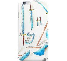 Arcaron: 12 cristal weapons iPhone Case/Skin