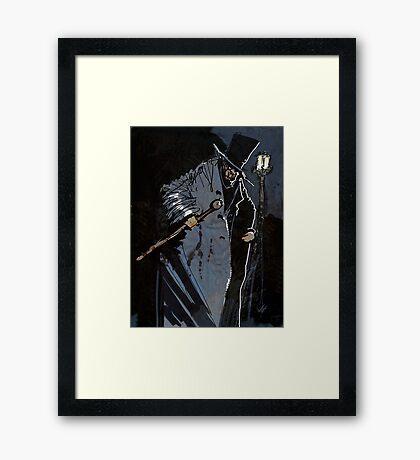 Mr Hyde Framed Print