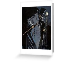 Mr Hyde Greeting Card