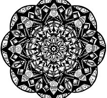Mandala Pattern by Chi-el-sea
