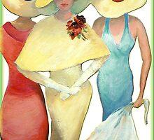 THREE LADIES by fuxart