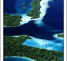 The Blue Morovo Lagoon by Robert Mullner