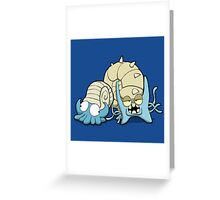 Number 138 and 139 Greeting Card