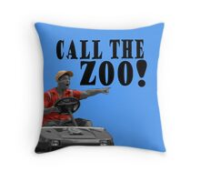CALL THE ZOO! Throw Pillow