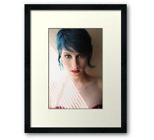 Red, White and Blue Framed Print