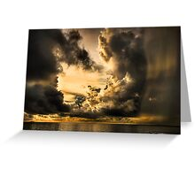 Stormy Dawn Greeting Card