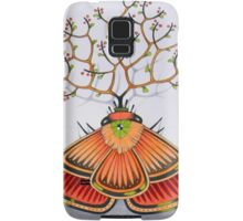 tree - moth Samsung Galaxy Case/Skin