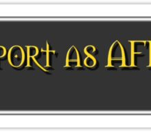 Report Player AFK Sticker
