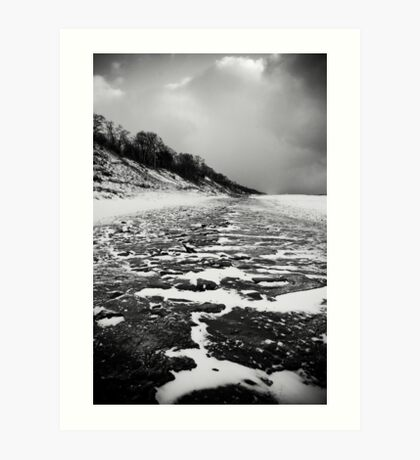 Icey Path Art Print