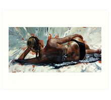 The Sunbather Art Print