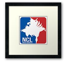 Gold Saucer's NCL!! - National Chocobo League Framed Print
