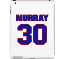 National football player Bill Murray jersey 30 iPad Case/Skin