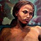 Portrait of Bahati  by Roz McQuillan