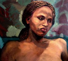 Portrait of Bahati  by Roz McQuillan
