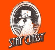 Stay Classy Llama by Karl Salisbury