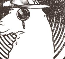 Stay Classy Llama Sticker