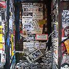Berlin scene - Posters by fuxart