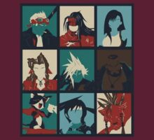 Final Fantasy VII - Characters by shpalman85