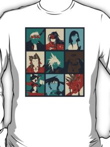 Final Fantasy VII - Characters T-Shirt