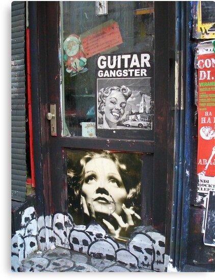 Marlene Dietrich by fuxart