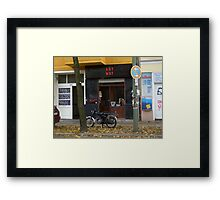 ANY WAY Framed Print