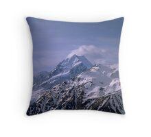 Mt Cook / Aoraki / New Zealand Throw Pillow