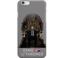 House of Cards/Game of Thrones: Frank Underwood iPhone Case/Skin